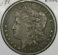 1878 REV OF 1879 MORGAN SILVER DOLLAR SHIPS FREE