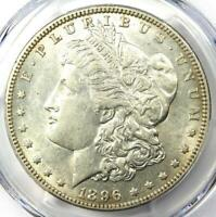 1896-O MORGAN SILVER DOLLAR - PCGS AU55 -  DATE IN AU55 - NEAR MS/UNC
