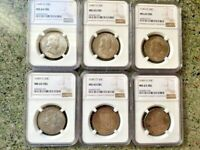 1949 D 50C SILVER FRANKLIN NGC MS65 FBL   6