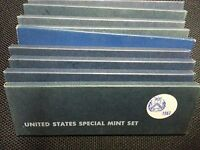 LOT OF TEN  10  1967 US SPECIAL MINT SETS 50 BU COINS MINT C