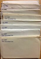 LOT OF TEN  10  1976 US MINT SETS    120 BU COINS IN MINT CE