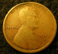 1912-S LINCOLN WHEAT CENT-PENNY      COIN FOR THAT BOOK       11122010