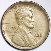 1921-S LINCOLN WHEAT SMALL CENT CHOICE UNC SHIPS FREE E159 RHL