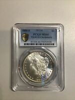 1880 S MORGAN SILVER DOLLAR PCGS MINT STATE 66 4928 VAM 12 CHECKMARK GOLD SHIELD