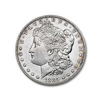 1885-S MORGAN DOLLAR EXTRA FINE  DETAILS CLEANED - SKU10400
