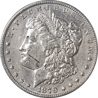 1879-S MORGAN SILVER DOLLAR - REVERSE '78 GREAT DEALS FROM THE EXECUTIVE COIN CO