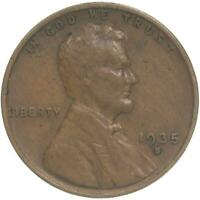 1935 S LINCOLN WHEAT CENT FINE PENNY FN