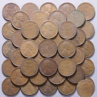 1926 D LINCOLN WHEAT CENT ROLL 50 CIRCULATED PENNIES US COINS