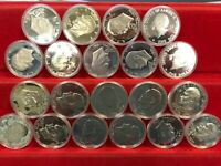 1976 S SILVER EISENHOWER IKE DOLLAR ROLL   20 COINS SILVER P