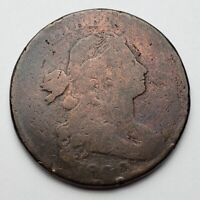 1800 DRAPED BUST LARGE CENT CLEANED