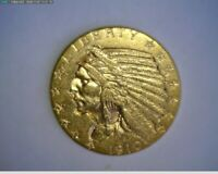 1910 D $5 GOLD INDIAN  VERY NICE     TAKE A LOOK   LOW MINTA