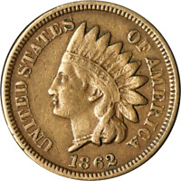 1862 INDIAN CENT GREAT DEALS FROM THE EXECUTIVE COIN COMPANY