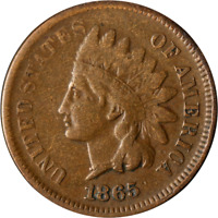 1865 INDIAN CENT GREAT DEALS FROM THE EXECUTIVE COIN COMPANY
