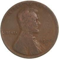 1926 D LINCOLN WHEAT CENT GOOD PENNY GD