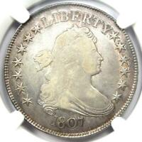 1807 DRAPED BUST HALF DOLLAR 50C COIN O-109A - CERTIFIED NGC FINE DETAILS