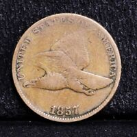 1857 FLYING EAGLE CENT - GOOD 35219