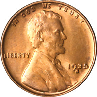 1935-S LINCOLN CENT GREAT DEALS FROM THE EXECUTIVE COIN COMPANY