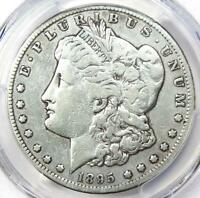 1895-S MORGAN SILVER DOLLAR $1 - CERTIFIED PCGS VF DETAILS -  DATE COIN