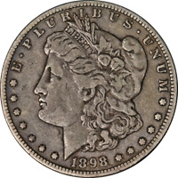1898-O MORGAN SILVER DOLLAR LY CIRCULATED - GREAT SET BUILDER - STOCK