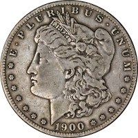 1900-S MORGAN SILVER DOLLAR LY CIRCULATED - GREAT SET BUILDER - STOCK
