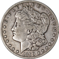 1899-S MORGAN SILVER DOLLAR LY CIRCULATED - GREAT SET BUILDER - STOCK