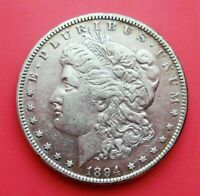 1894 S MORGAN SILVER DOLLAR $1 KEY DATE AU ABOUT UNCIRCULATED