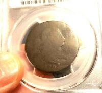 1796 DRAPED BUST LARGE CENT SINGLE LEAVES 1C PCGS CERTIFIED