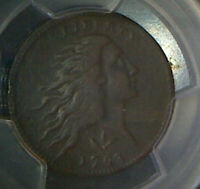 1793 WREATH CENT-PCGS VF DETAILS-