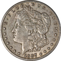 1887-S MORGAN SILVER DOLLAR LY CIRCULATED - GREAT SET BUILDER - STOCK