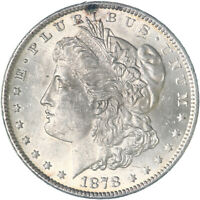 1878 MORGAN SILVER DOLLAR 7 TAIL FEATHERS REV OF 79 UNCIRCULATED SEE PICS F979