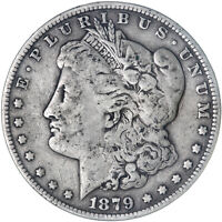 1879 S MORGAN SILVER DOLLAR  GOOD VG SEE PICS F982