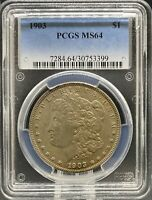 1903 MORGAN DOLLAR MINT STATE 64 PCGS PA30753399