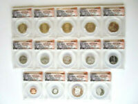 2013-S FIRST STRIKE 14-COIN PROOF SET 096 OF 483 - ANACS PR70 DCAM