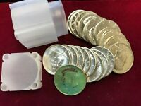 20  1964 KENNEDY PROOF SILVER HALVES 1 ROLL 90  SILVER