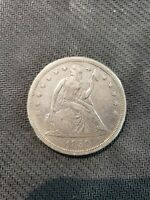 1850 LIBERTY SEATED SILVER DOLLAR