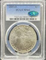 1885-O MORGAN DOLLAR MINT STATE 66 PCGS CAC PA38002134