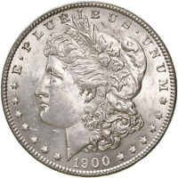 1900 MORGAN SILVER DOLLAR UNCIRCULATED US MINT COIN