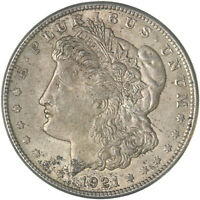 1921 S MORGAN SILVER DOLLAR EXTRA FINE EXTRA FINE  SEE PICS F208