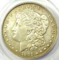 1901-P MORGAN SILVER DOLLAR $1 COIN 1901 - CERTIFIED ANACS AU50 DETAILS