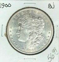 1900 MORGAN SILVER DOLLAR  BU  COIN