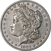 1883-S MORGAN SILVER DOLLAR GREAT DEALS FROM THE EXECUTIVE COIN COMPANY