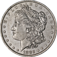 1882-O/S MORGAN SILVER DOLLAR VAM EARLY DIE STATE GREAT DEALS FROM THE EXECUTIVE