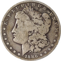 1886-O MORGAN SILVER DOLLAR - ERROR- ROTATED DIE GREAT DEALS FROM THE EXECUTIVE