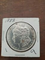 1883 MORGAN DOLLAR BU UNCIRCULATED MINT STATE 90 SILVER $1 US COIN COLLECTIBLE