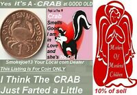 1998 THE FAMOUS CRAB PENNY COIN GUERNSEY KM89 AGE 23 YEARS O