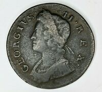 1738   GREAT BRITAIN COPPER HALF PENNY   174423V