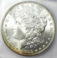1903-O MORGAN SILVER DOLLAR $1 - CERTIFIED ICG MINT STATE 67 -  IN MINT STATE 67 - $3880 VALUE