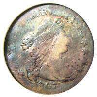 1807 DRAPED BUST DIME 10C - CERTIFIED ANACS VG DETAIL / NET AG3 -  COIN