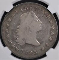 1795 FLOWING HAIR $1 NGC FINE DETAILS
