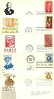 1960 67 FDC ANDERSON CACHETS X5